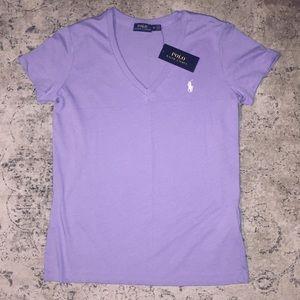 NEW Polo Ralph Lauren Purple Tee